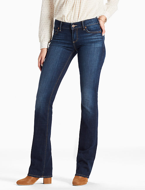 LOLITA MID RISE BOOTCUT JEAN IN LINDEN, LINDEN