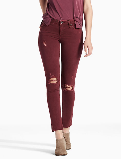 LOLITA MID RISE SKINNY JEAN IN MAYFAIR, MAYFAIR