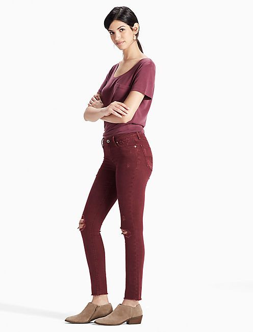 Lucky Lolita Mid Rise Skinny Jean In Mayfair