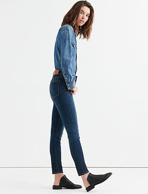 Lucky Bridgette Mid Rise Skinny Jean In Lonestar
