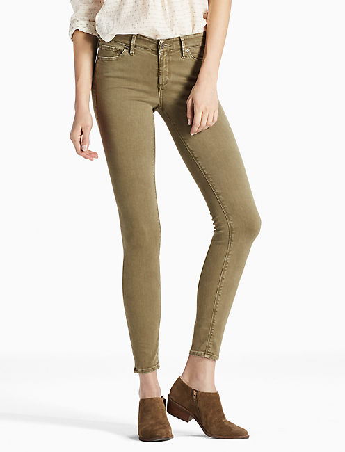 AVA MID RISE SKINNY JEAN IN MOJAVE VALLEY, MOJAVE VALLEY