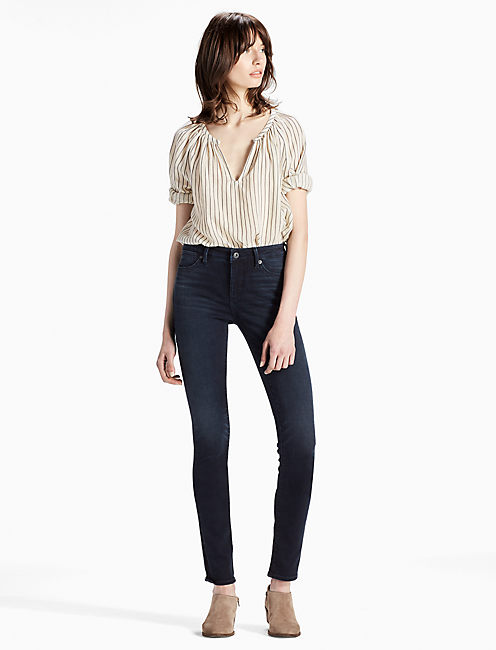 Lucky Hayden High Rise Sculpting Skinny Jean In Inkwell