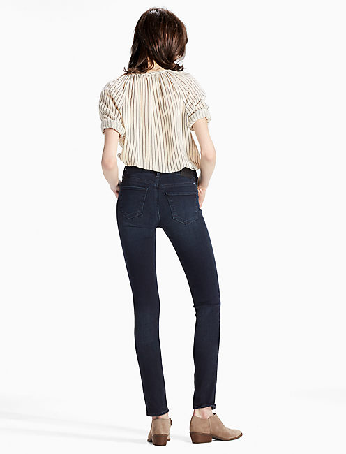 HAYDEN HIGH RISE SCULPTING SKINNY JEAN IN INKWELL, INKWELL