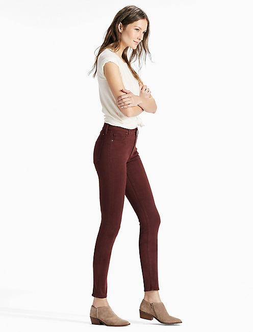 Lucky Bridgette High Rise Skinny Jean In Bitter Chocolate