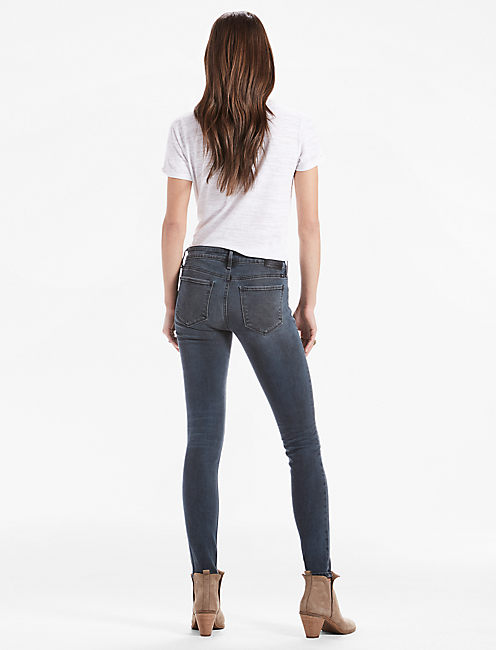 STELLA LOW RISE SKINNY JEAN IN GUNTER, GUNTER