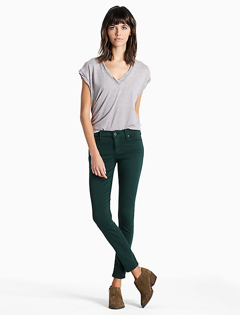 Lucky Stella Low Rise Skinny Jean In Pine Grove