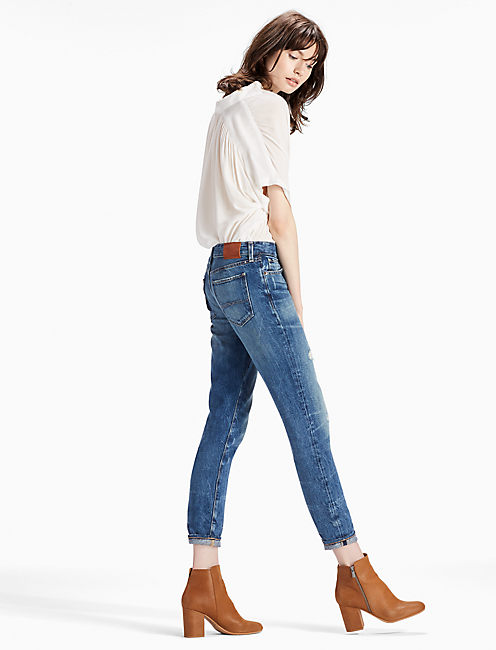 Lucky Sienna Mid Rise Slim Boyfriend Jean In Badlands