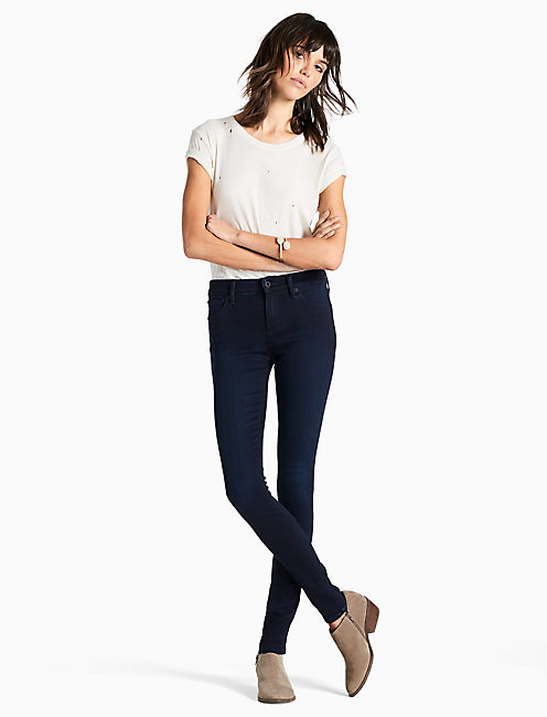 Lucky Ava Mid Rise Legging Jean In Spirited