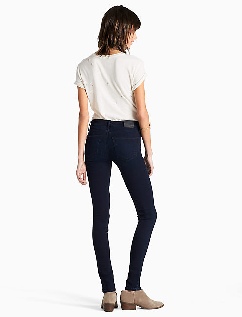 AVA MID RISE LEGGING JEAN IN SPIRITED,