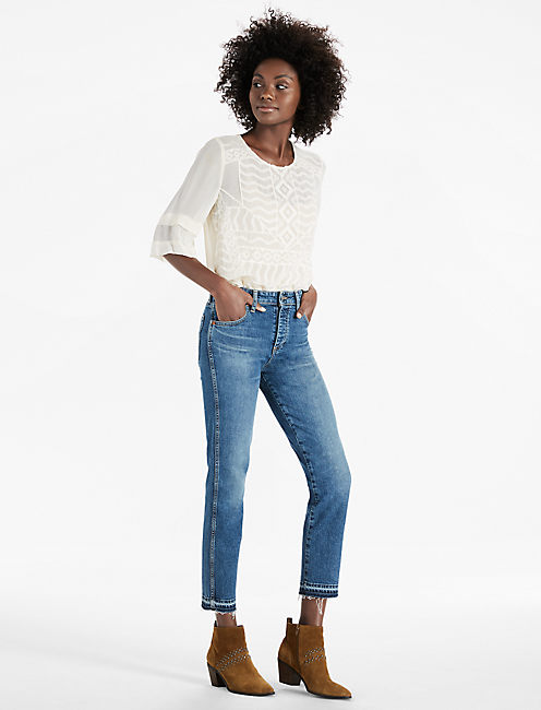 Lucky High Rise Tomboy Jean In Western Heritage