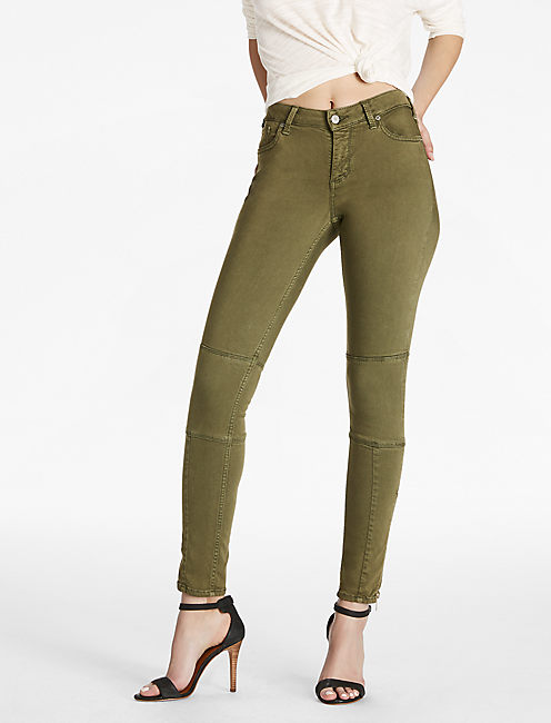 88868e520c Sasha Super Skinny Jean With Ankle Zipper