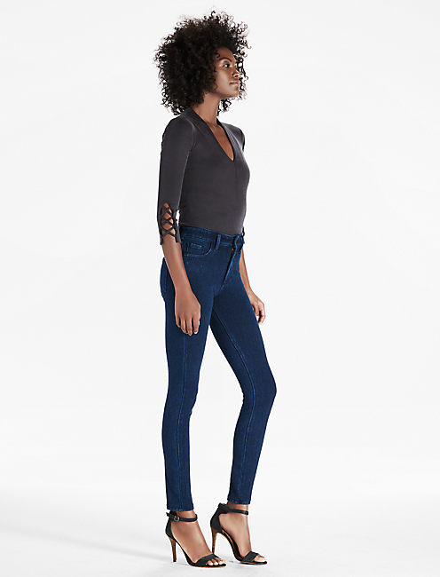 Lucky Bridgette Dark Knit Denim Jean