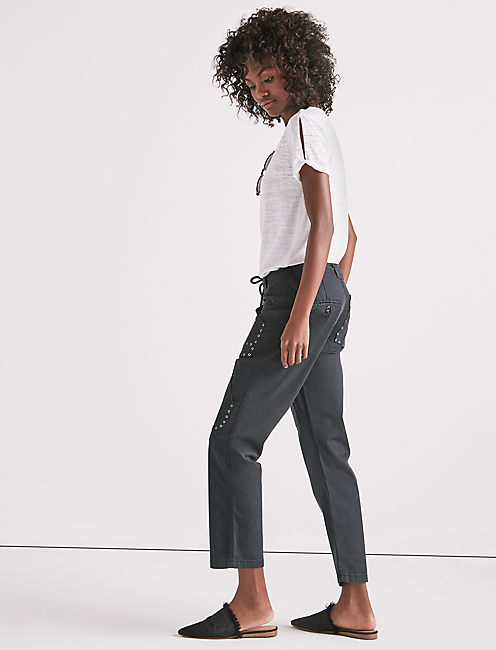 Lucky Cargo Pant With Eyelets