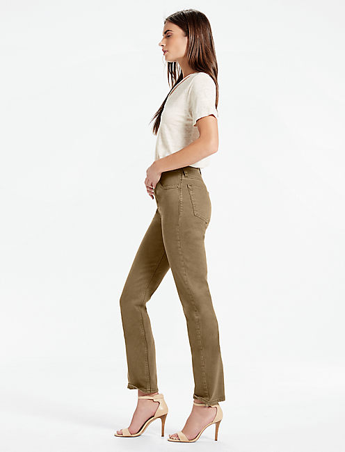 Lucky Bridgette High Rise Slim Straight Jean In Abbeyfield
