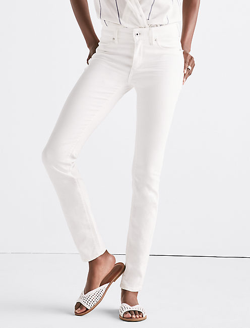 HAYDEN HIGH RISE SCULPTING JEAN IN CREMA, CREMA
