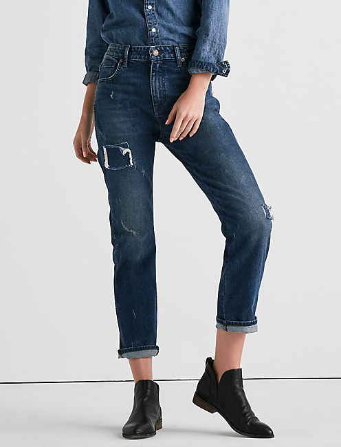 Lucky High Rise Tomboy Jean In Solano