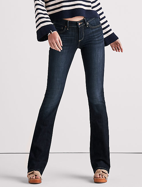 STELLA LOW RISE BOOTCUT JEAN IN CORRAL CANYON,