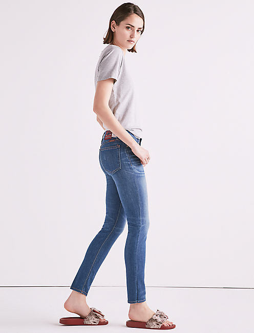 Lucky Made In L.a. Lolita Mid Rise Skinny Jean In Taylor