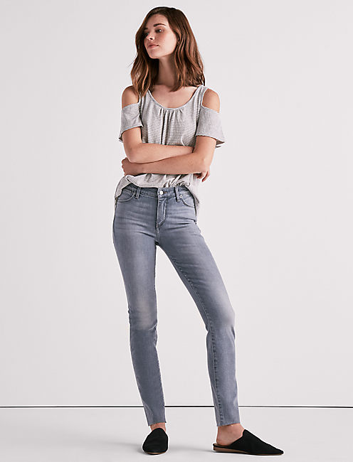 Lucky Hayden High Rise Skinny Jean In June Gloom