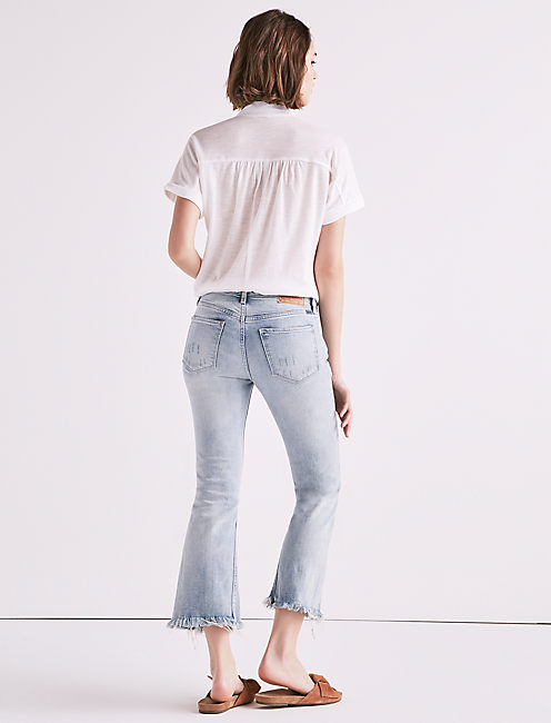 AVA CROPPED FLARE,