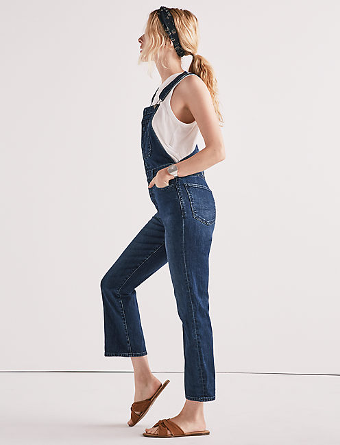 Lucky Bridgette Crop Flare Jean Overall