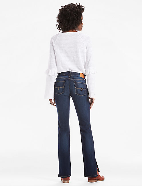 LOLITA BOOTCUT JEAN WITH SIDE SLIT,