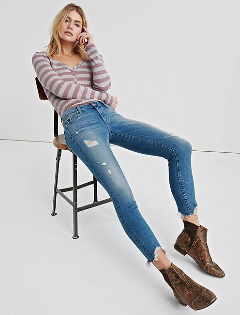 Ava Mid Rise Skinny Jean Lucky Brand