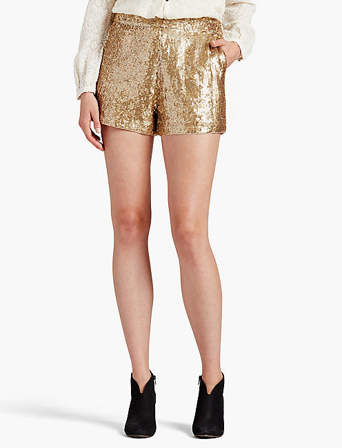 SEQUIN SHORT,