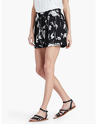 LUCKY FLORAL PRINTED SHORT