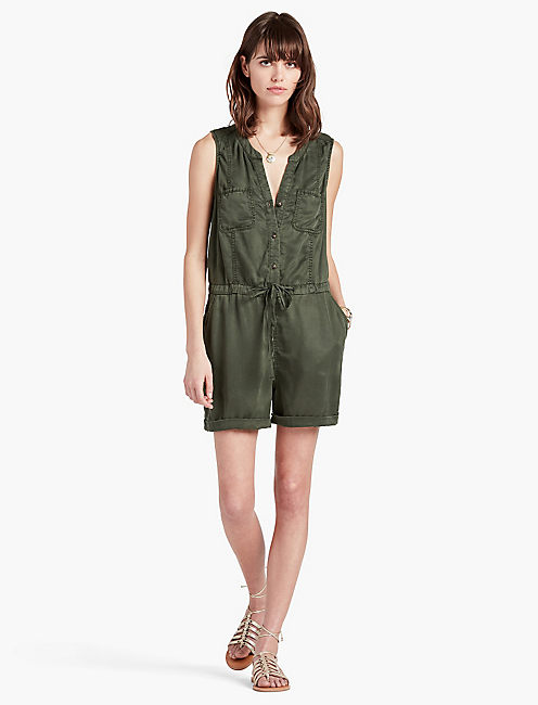 LUCKY UTILITY ROMPER