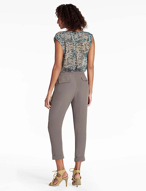 MATEO SOFT PANT, PEWTER