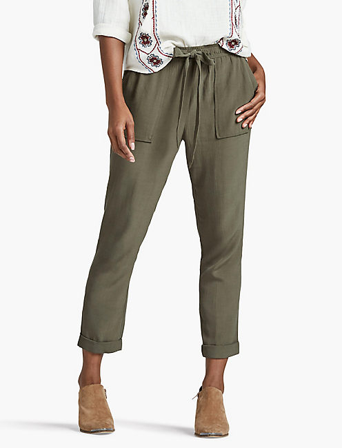Green Women's Pants | Lucky Brand