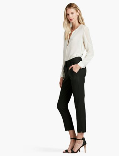 Lucky Crop Tailored Pant