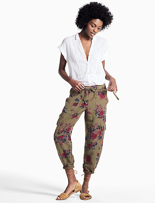 Lucky Printed Cargo Pant
