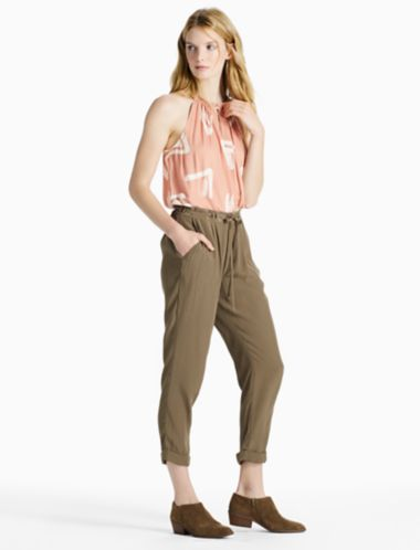 Lucky Crepe Pant