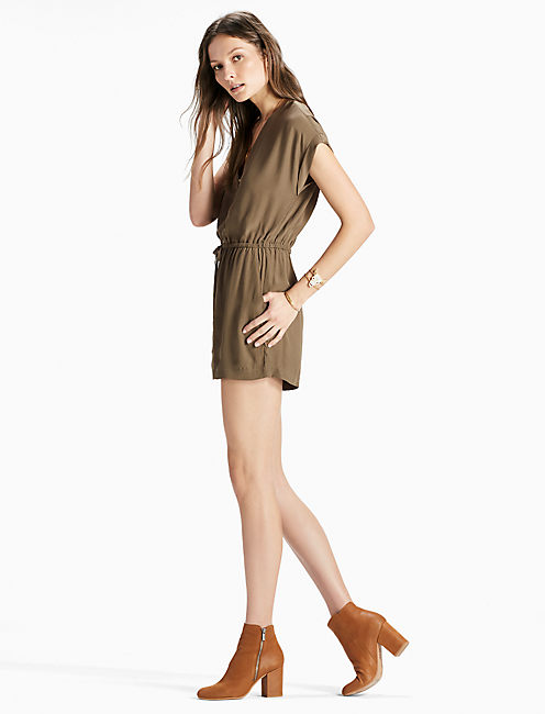 Lucky Olive Romper