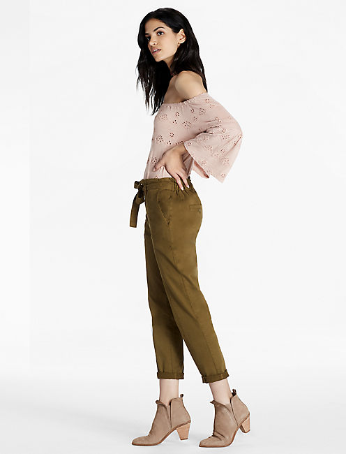 PAPER BAG PANT,