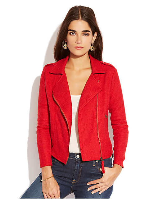 TEMERA MOTO JACKET, #6704 HAUTE RED