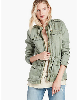 LUCKY MILITARY JACKET