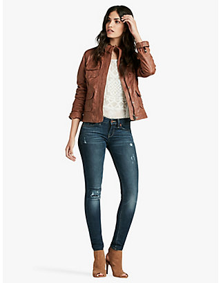 LUCKY DERBY LEATHER JACKET