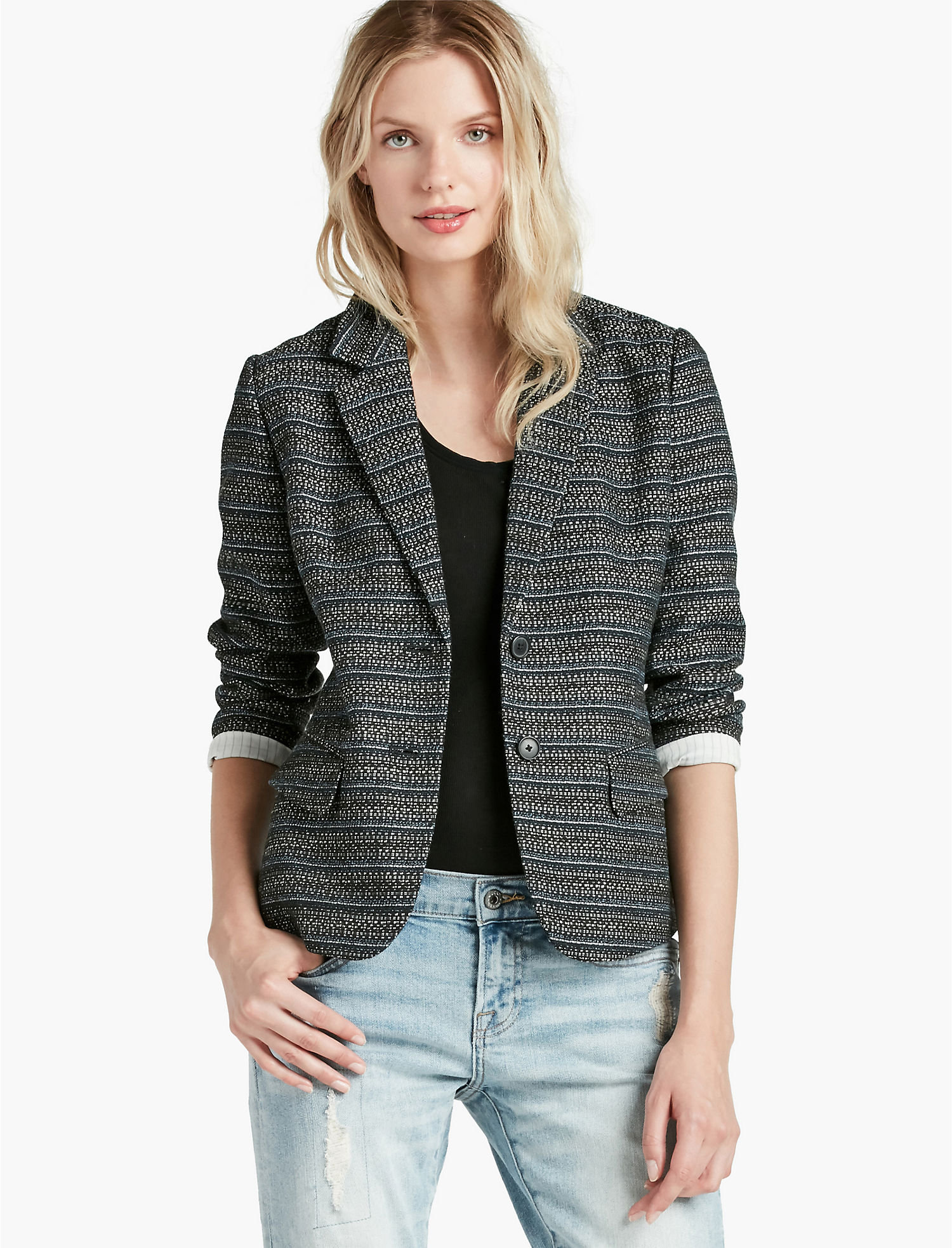 Womens Tweed Blazer | Lucky Brand