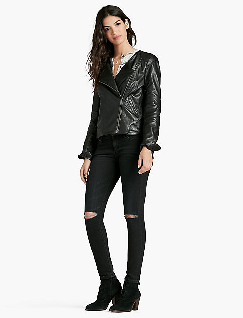 LUCKY CITY LEATHER JACKET