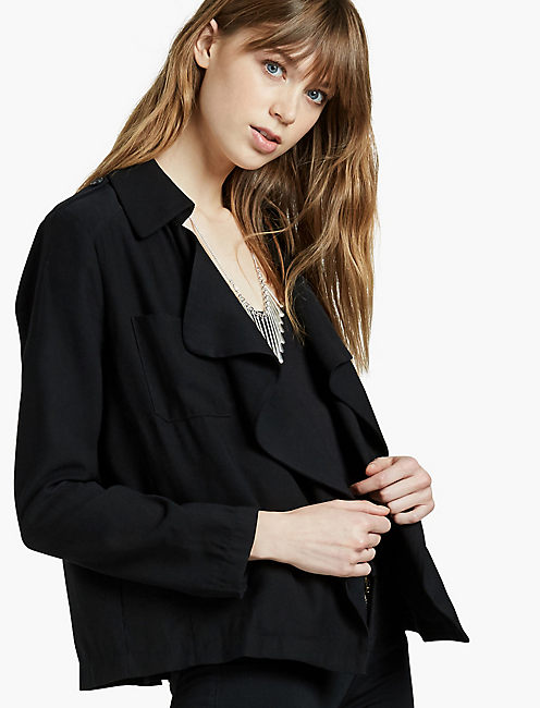 SOFT WATERFALL BLAZER,