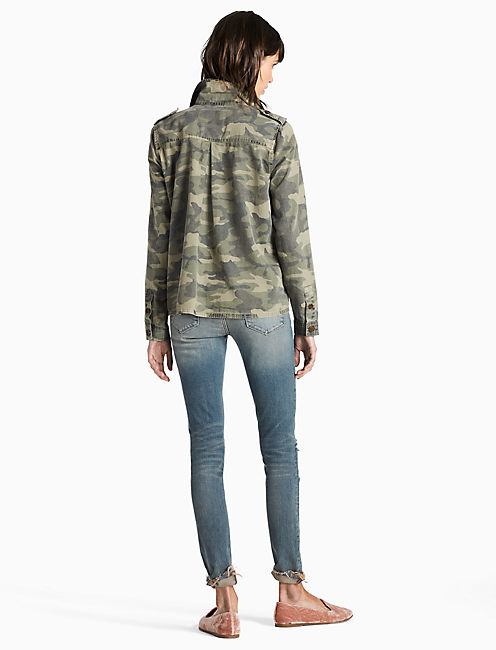 CAMO SHIRT JACKET, CAMO OLIVE MULTI