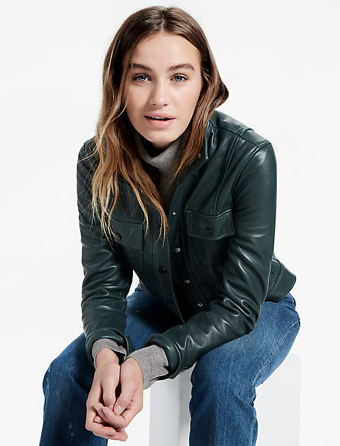 DISTRICT LEATHER JACKET,