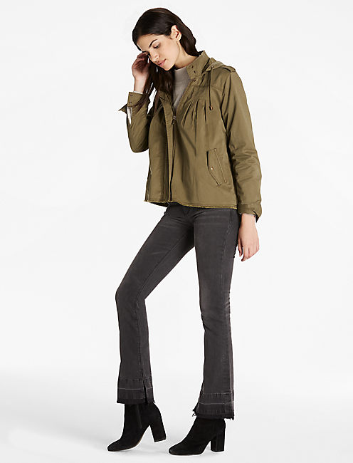 Lucky Raw Edge Military Jacket