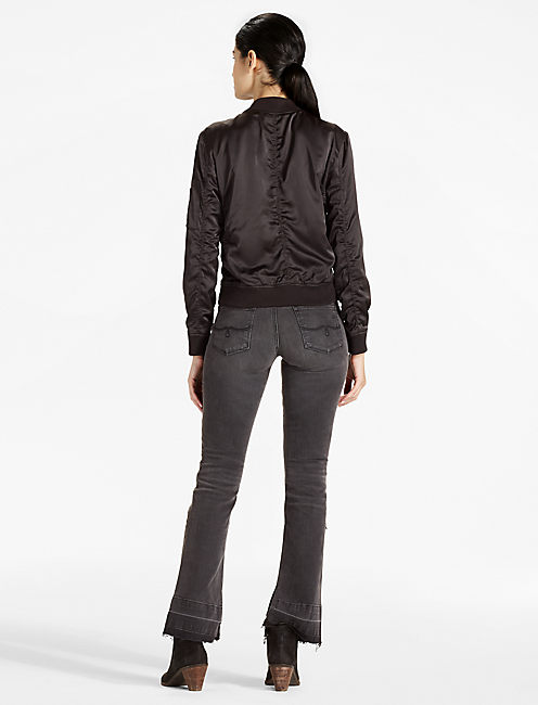 RUCHED BOMBER,