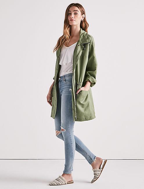 Lucky Oversized Parka Jacket