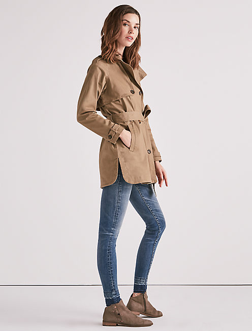Lucky Military Trench Coat