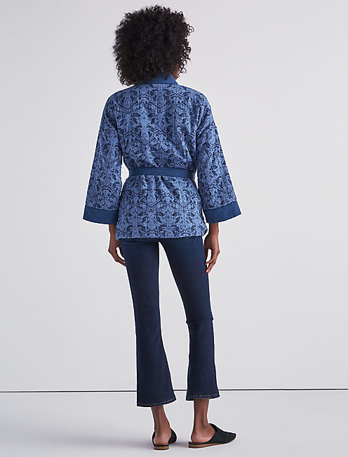 PAISLEY QUILTED JACKET,